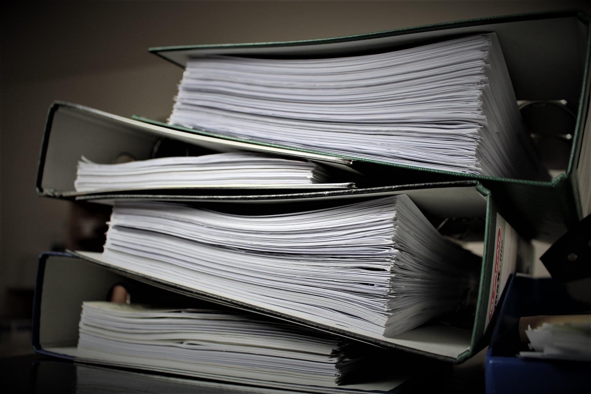 paper based document management